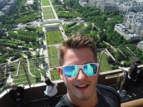 Selfie Atop The Eiffle Tower 5/18/2015